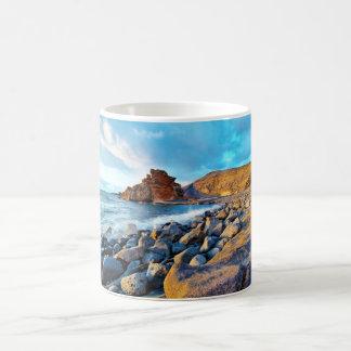 Plage de El Golfo Plages de Lanzarote Espagne Coffee Mug