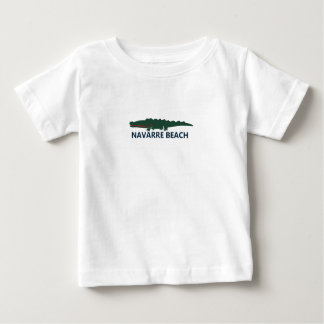Plage de la Navarre T-shirt Pour Bébé