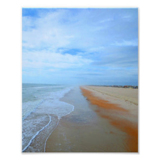 plage impression photo