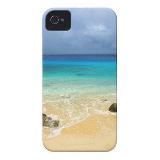 Plage tropicale d'île de paradis coques iPhone 4 Case-Mate