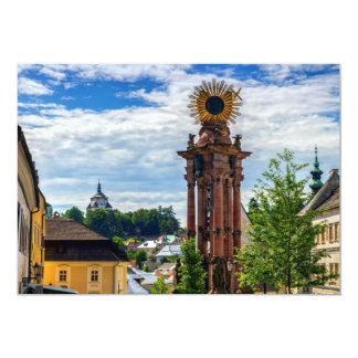Plague column, Banska Stiavnica, Slovakia Card