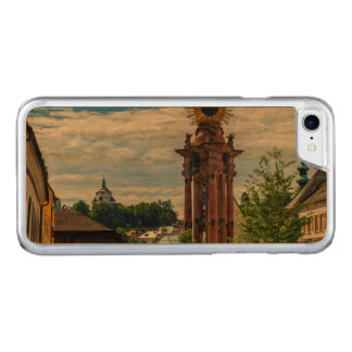 Plague column, Banska Stiavnica, Slovakia Carved iPhone 8/7 Case