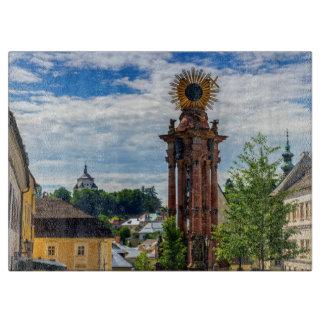 Plague column, Banska Stiavnica, Slovakia Cutting Board