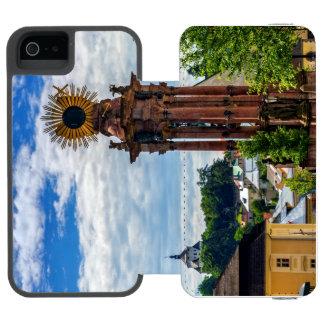 Plague column, Banska Stiavnica, Slovakia Incipio Watson™ iPhone 5 Wallet Case