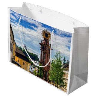 Plague column, Banska Stiavnica, Slovakia Large Gift Bag