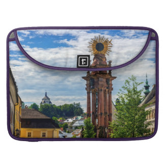 Plague column, Banska Stiavnica, Slovakia Sleeve For MacBook Pro