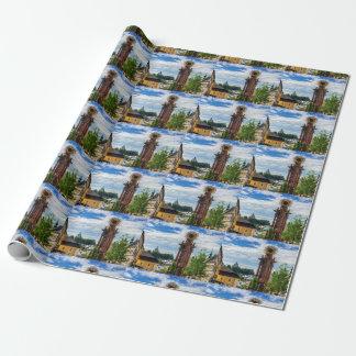 Plague column, Banska Stiavnica, Slovakia Wrapping Paper