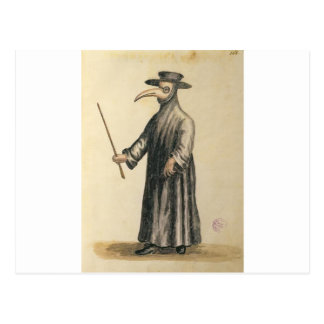 plague-doctor-2 postcard