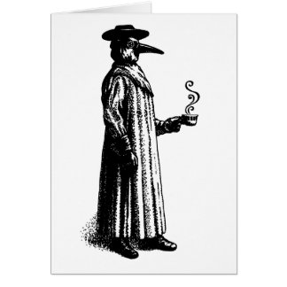 Plague Doctor Card