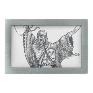 Plague Monk Sketch Belt Buckle