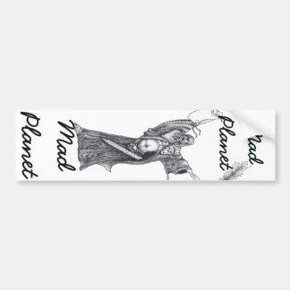 Plague Monk Sketch Bumper Sticker