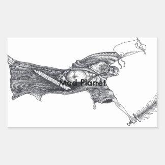 Plague Monk Sketch Sticker