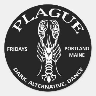 PLAGUE sticker