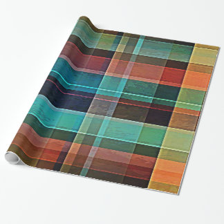 Plaid 17 wrapping paper