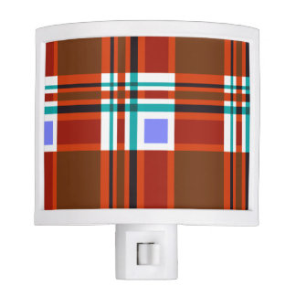 Plaid Abstract 10 Nite Lite
