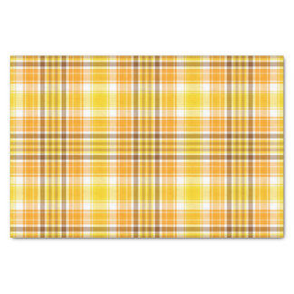 Plaid Autumn Tissue Paper