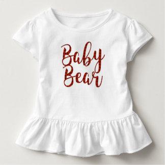 Plaid Bagt Bear Toddler T-shirt