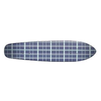 Plaid bleu skateboards personnalisés