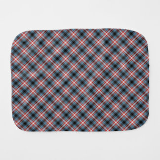 Plaid Burp Cloth