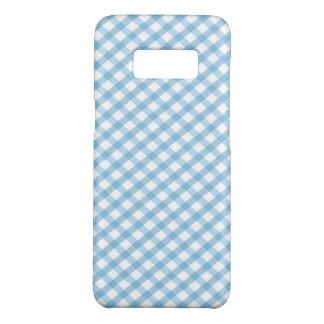 Plaid  / Checkered Blue Case-Mate Samsung Galaxy S8 Case
