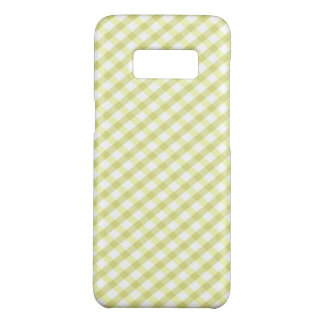 Plaid / Checkered Lime Green Case-Mate Samsung Galaxy S8 Case