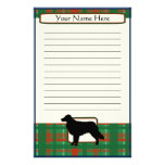 Plaid Christmas Toller Stationery