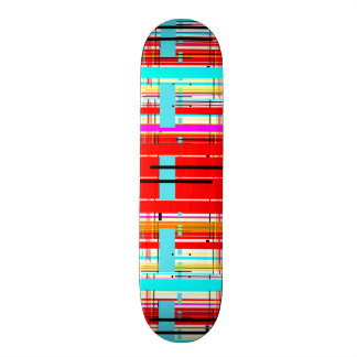 Plaid Etc. Skateboard