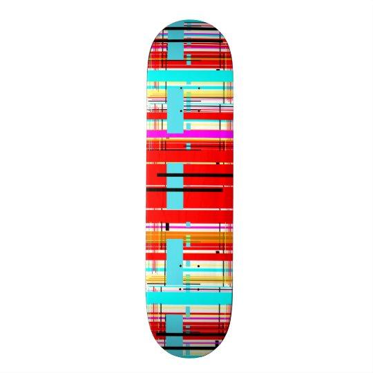 Plaid Etc. Skateboard