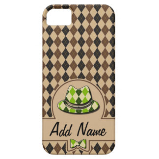 Plaid Hipster customizable iPhone 5 Case