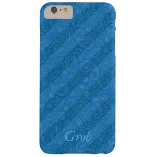 Plaid iPhone 7 blue case