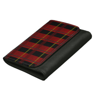 Plaid Lumberjack Wallet