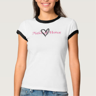 Plaid Maid of Honour Shirt