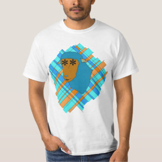 Plaid Mouton T-Shirt