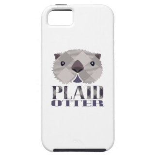 Plaid Otter iPhone Case