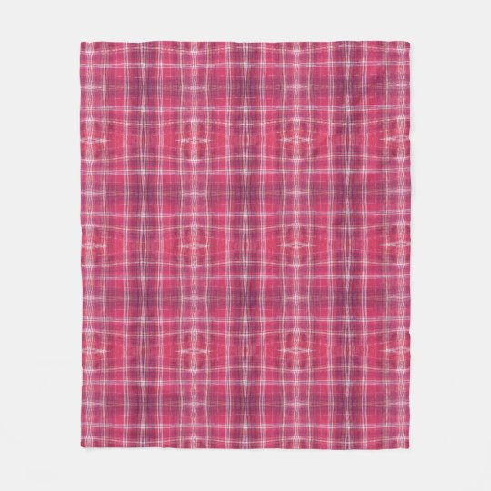 Plaid Passion Fleece Blanket