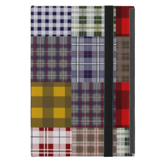 Plaid Patchwork Inspired iPad Mini Case