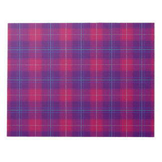 Plaid Pattern Craft Paper / Disposable Place Mats Notepad
