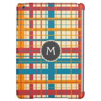 Plaid pattern iPad air case