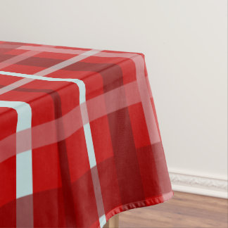 Plaid Pattern, Red Tablecloth