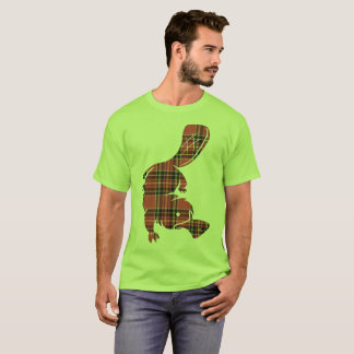 Plaid platypus T-Shirt