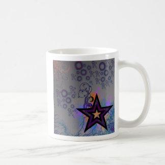 Plaid Star Classic White Coffee Mug