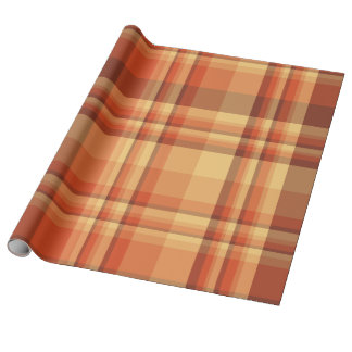 Plaid , Tartan . Check Wrapping Paper