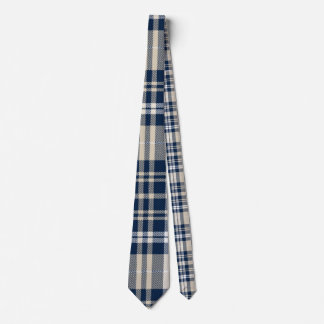 plaid tartan customize checkered neck tie