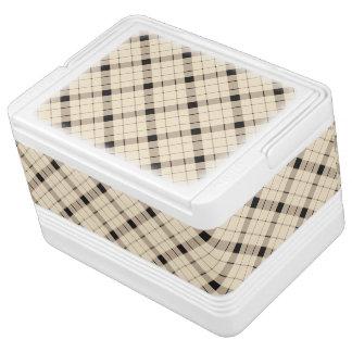 Plaid /tartan pattern brown and Black