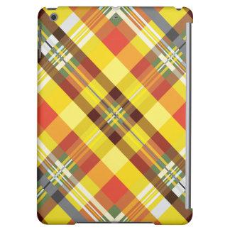 Plaid / Tartan - 'Sunflower' Case For iPad Air