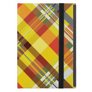 Plaid / Tartan - 'Sunflower' Case For iPad Mini