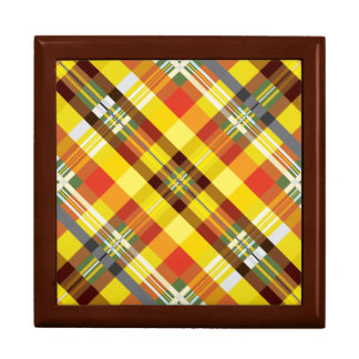 Plaid / Tartan - 'Sunflower' Gift Box