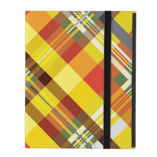 Plaid / Tartan - 'Sunflower' iPad Cover