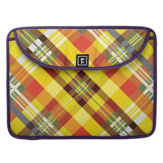Plaid / Tartan - 'Sunflower' Sleeve For MacBook Pro