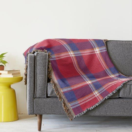 Plaid, Tartan Throw Blanket